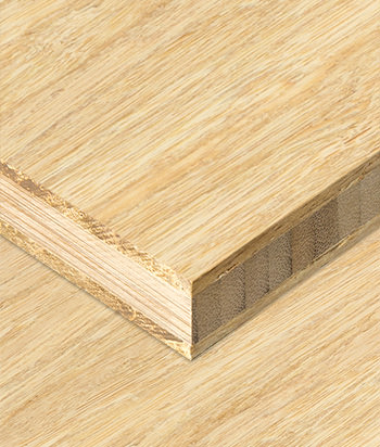 Sample - Bamboo Plywood - 3ply 3/4 in. Fossilized® Natural