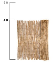 Bamboo Amp Reed Fencing Privacy Fence Panel Rolls 7 Year