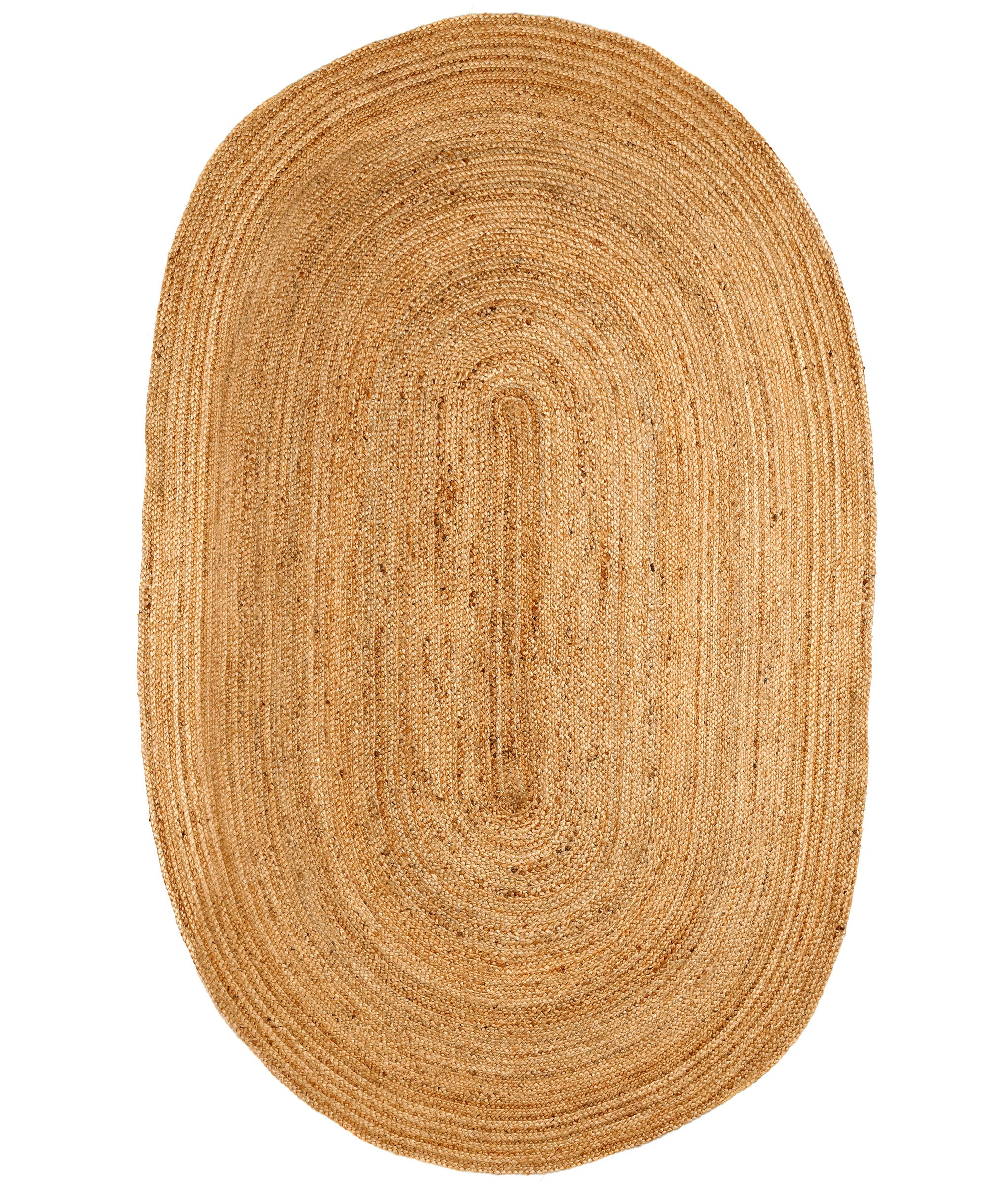 Image of: Teddy 6 X 9 Oval Area Rug Cali Bamboo